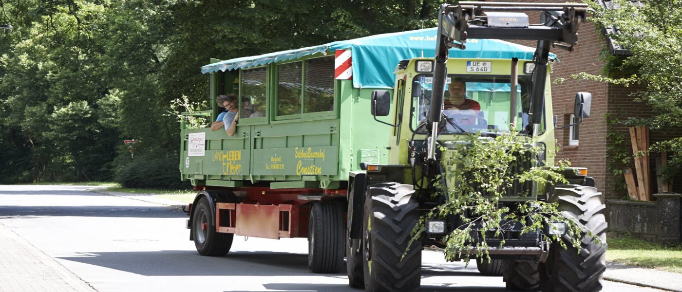 Hof Constien - Landpartie mit dem Tourenwagen